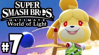 Super Smash Bros Ultimate - World of Light PART 7 - Isabelle Unlock - Switch Gameplay Walkthrough