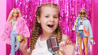Diana and Roma - Welcome to my Barbie Party - Kids Song (Official Music Video)