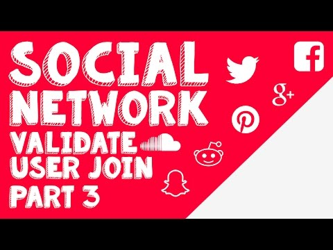 New Social Network - Part 3 - Account Validation