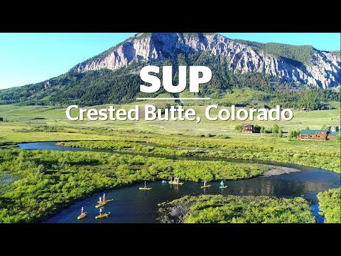 sup on the slate river crested butte colorado youtube