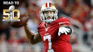 Road to Super Bowl 50: 49ers