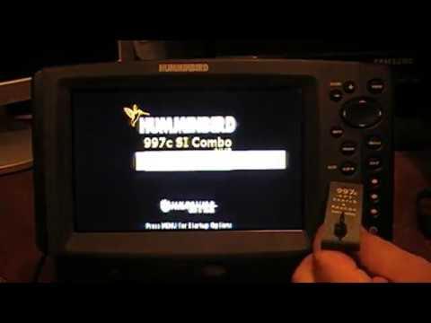 How to update humminbird helix software youtube.