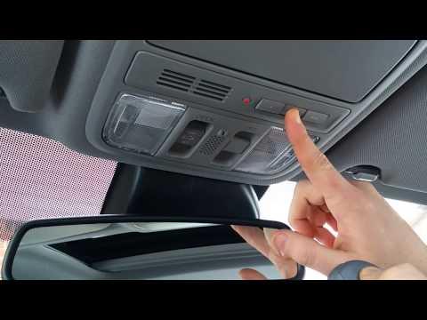 How to program your garage using Honda Home Link