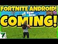 Fortnite Android NEW RELEASE DATE ANNOUNCE! OFFICIAL INFORMATION!! | Fortnite Mobile