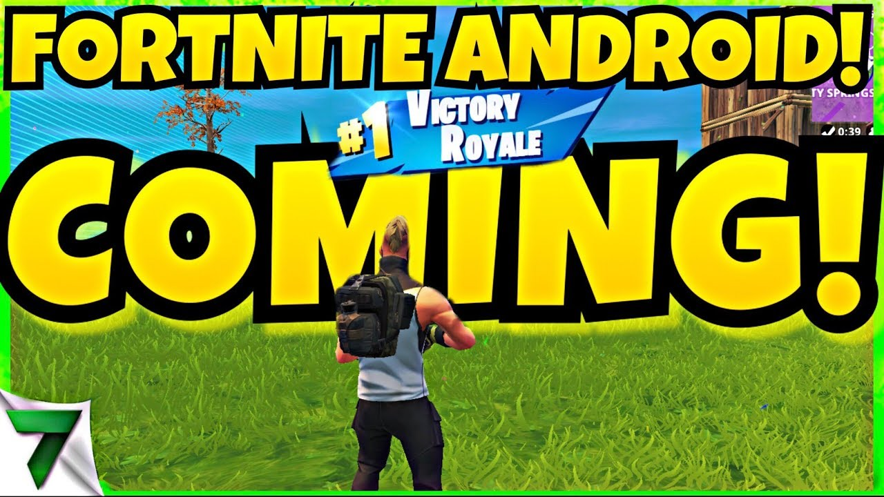 Fortnite Android release date now set for summer 2018