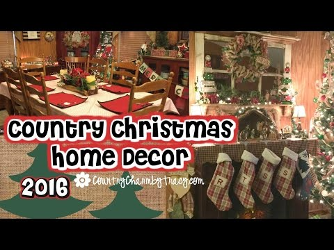 My Country Christmas Home Decor