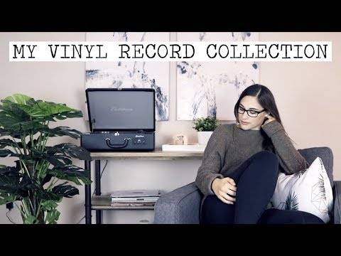 My Vinyl Record Collection 2017!