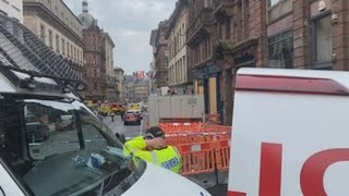Un hombre abatido por la Policía en Glasgow tras herir a seis con un cuchillo