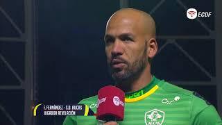 Fernando Fernandez Figura Del Partido Aucas Vs Guayaquil City - Copa Ecuador
