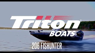 Triton 206 Fishunter - Fiberglass Walleye Boat