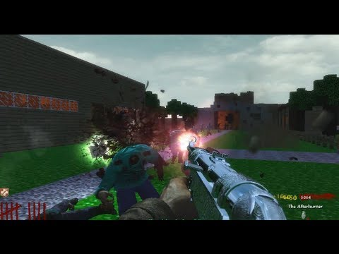 CoD WaW: custom zombie map minecraft SOLO part 2 ending (PC) ᴴᴰ ...