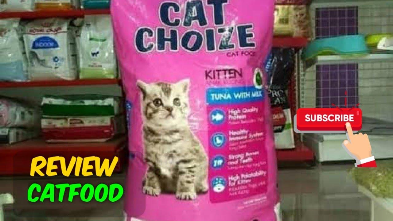 Review Makanan Kucing Cat Choize Kitten Youtube