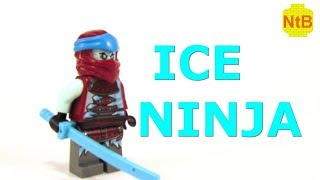 LEGO NINJAGO ICE NINJA MNIFIGURE TUTORIAL