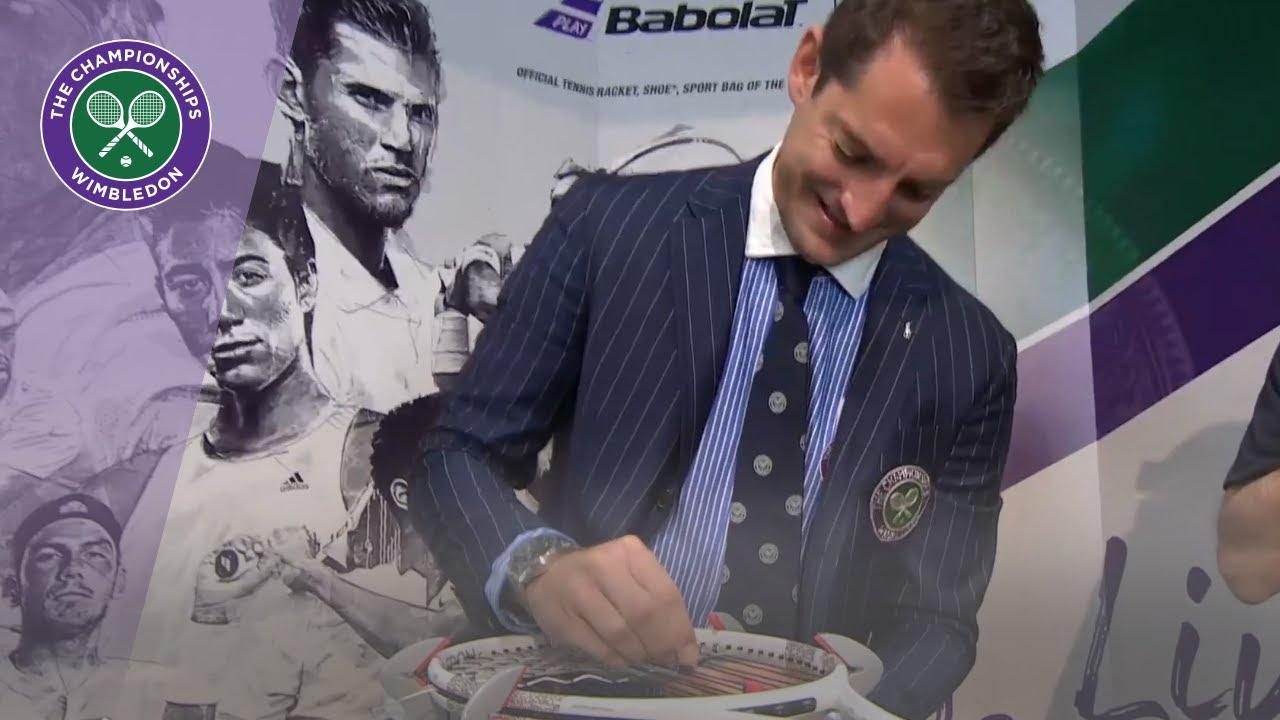 Download Babolat Racket Stringing Challenge - Umpire Richard Haigh | Wimbledon 2019