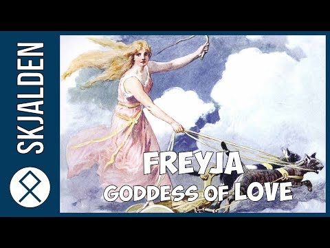 Freyja Goddess Of Love In Norse Mythology