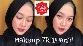 GILA MAKEUP 7RIBUANN?!😍😍 VIVA ONE BRAND MAKEUP (REVIEW + FIRST IMPRESSION)  - Wellisna Merduani MP3