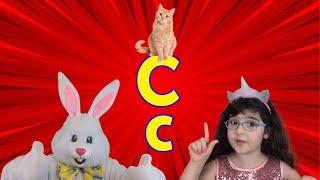 Letter C 2021 | Alphabet Song for Kids (New) | Arissa & Bunny