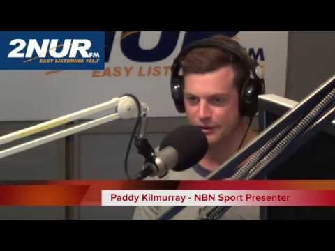 Local boy Paddy Kilmurray comes home