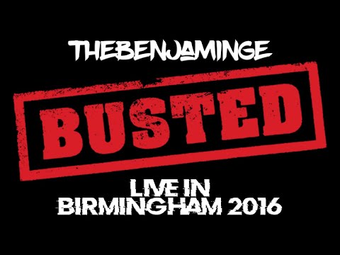 Vlog 36 - Busted Live in Birmingham (OMFG Zone)