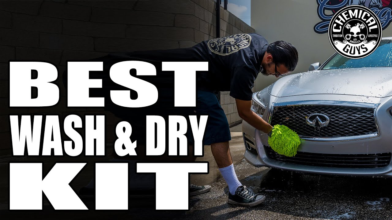 One car wash bucket kit for every car wash job the best wash and dry kit chemical guys youtube
