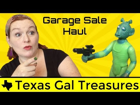 Vintage Garage Sale Haul to Sell on Ebay and Etsy - Reselling Online