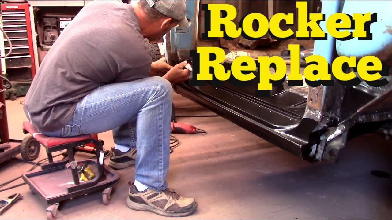 Install Rocker Panel 63 Chevy C10 Funnydog Tv