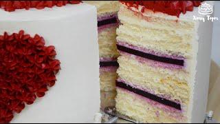 Торт Молочная девочка в домашних условиях пошагово Рецепт вкусного торта с творожно сливочным кремом