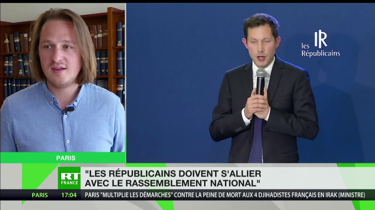 Geoffroy Lejeune : «Les Républicains doivent s'allier avec le Rassemblement National»