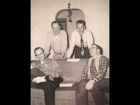 Pop Chords Barbershop Quartet WILE Radio 1959 #1 Cambridge, Ohio
