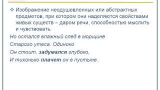 Изобразительно выразительные средства русского языка  Как выполнить задание ЕГЭ В8 11