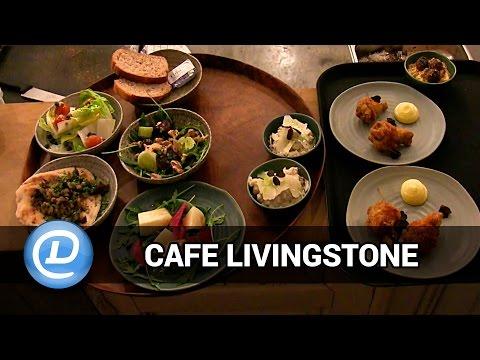 Cafe Livingstone ved Søerne lader dig mixe alle dine favorit retter til et lækkert måltid