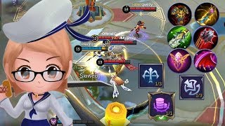 Fanny Super easy+MVP Gameplay By: Fat you Mahina
