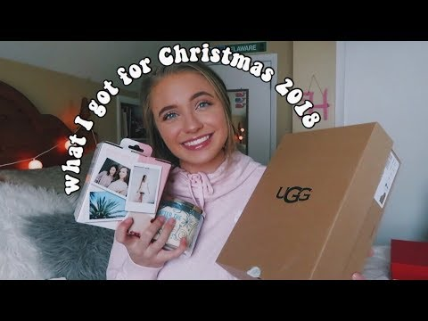 What I Got For Christmas 2018 (!!!)