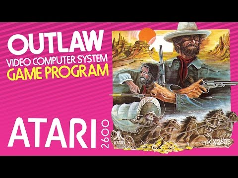 Outlaw (Atari 2600) - Skin that Smokewagon!