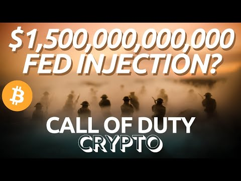 Bitcoin And Stock Markets   FED Injections   Ethereum DeFi In Trouble? Call Of Duty Crypto