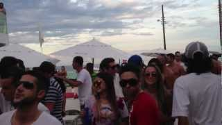 Funky Fat Live @ Ydra beach (BC) - Só track boa \ 11.02.2013