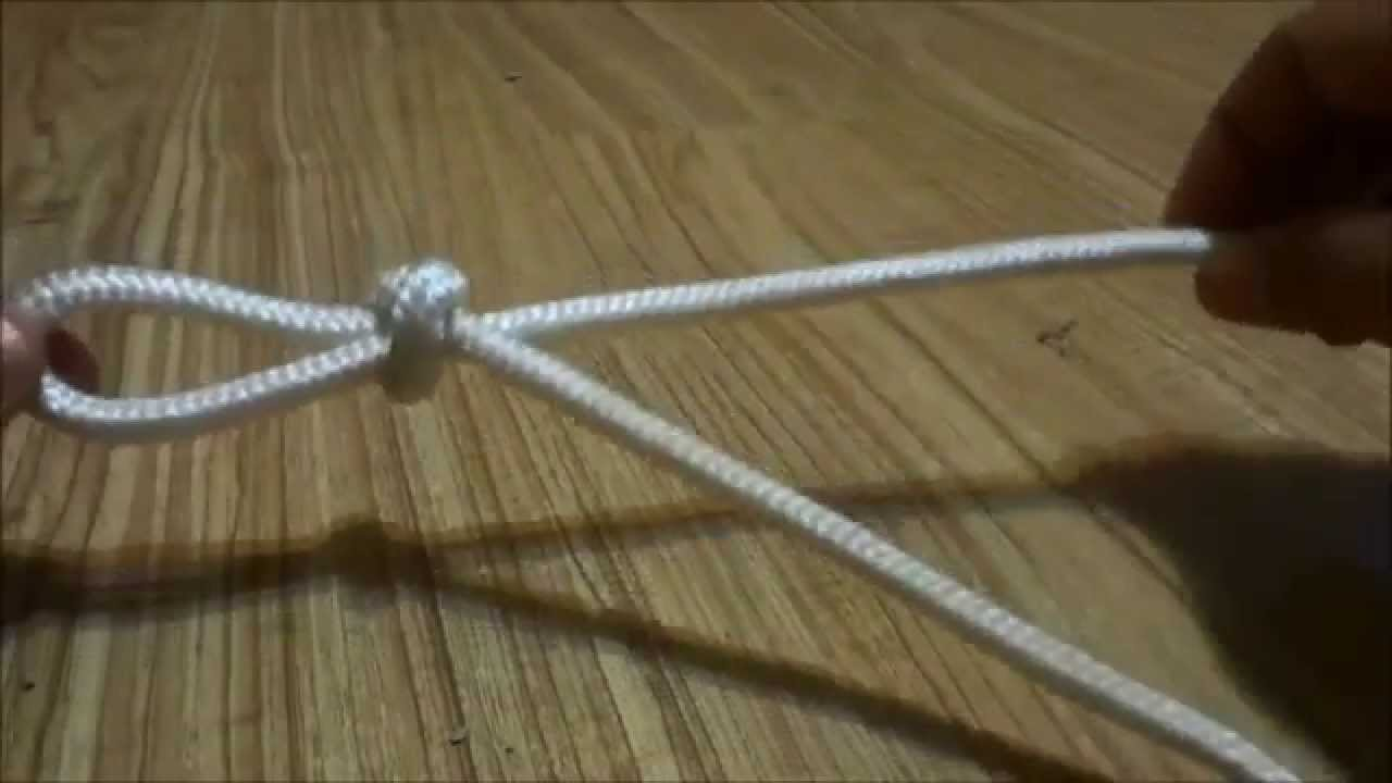 How to tie a slip knot in a rope #2