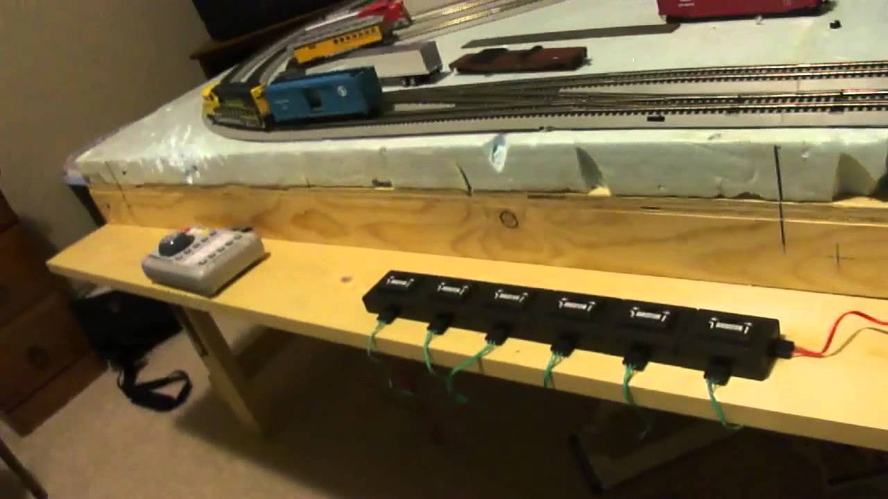 How To Build A Model Railroad Wiring And Control Station Episode 9