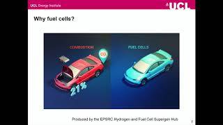 What happened to the hydrogen economy? - Dr Paul Dodds - 20/02/2018