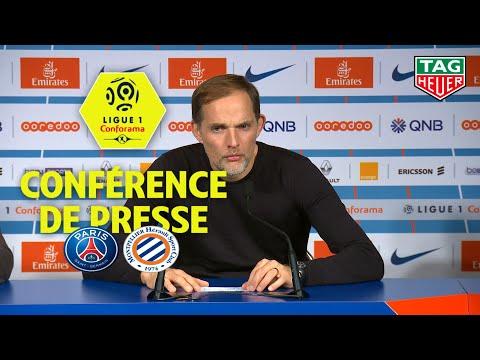 download Conférence de presse Paris Saint-Germain - Montpellier Hérault SC (5-1) / 2018-19