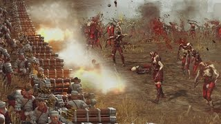 312 hellblaster volley guns vs 6420 zombies total war warhammer massive battles