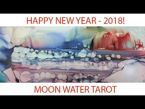 Scorpio Tarot Intuitive Love General Messages January 2018 - Moon Water Tarot