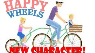 NEW CHARACTER!-Happy Wheels Part 4