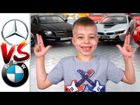 Машинки: МЕРСЕДЕС против БМВ! Гонки + АНОНС КОНКУРСА!!!