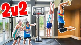 HOUSE 2V2 Mini Basketball *Injury Warning*