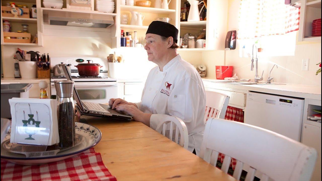 Kristen Douglas Graduate Testimonial Escoffiers Online Culinary