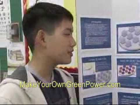 12 year old boy genius invents new type of solar