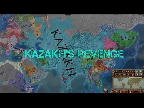 Alternate History - EU4 FFA Timeplapse - Kazakh's Revenge