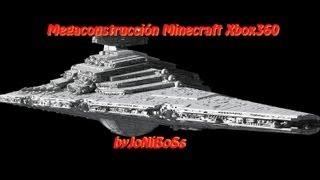 MEGAConstrucción en Minecraft Xbox360 - La Nave de Star Wars mas PORNO