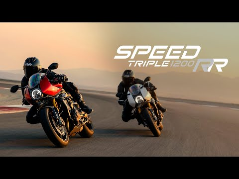 New Speed Triple 1200 RR